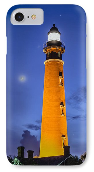 Ponce De Leon Lighthouse IPhone Case by Alan Marlowe