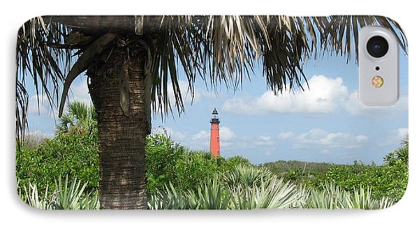 IPhone Case featuring the digital art Ponce Inlet Lighthouse Florida 2 by Brian Johnson