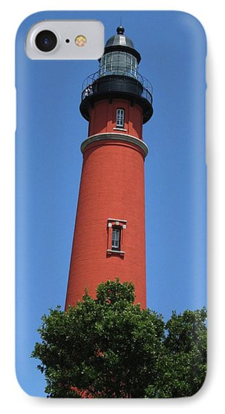 Ponce Inlet Lighthouse Florida IPhone Case by Brian Johnson
