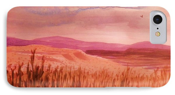 Pond In Drought IPhone Case by Suzanne McKay