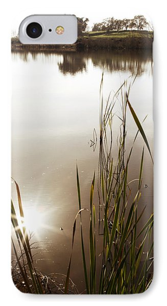 Pond Phone Case by Les Cunliffe