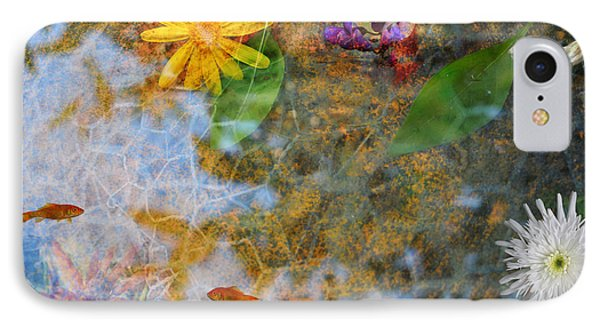 Pond Or Garden? IPhone Case by Zilpa Van der Gragt
