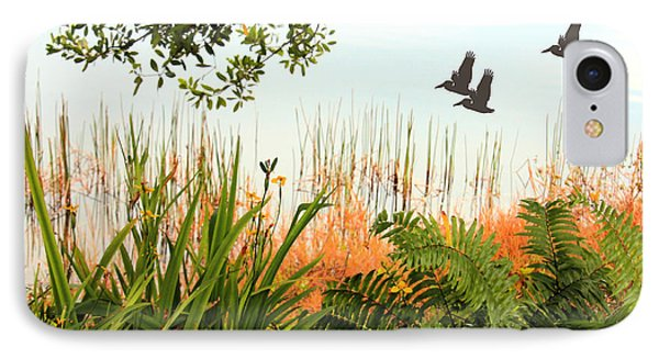 Pond View Phone Case by Rosalie Scanlon