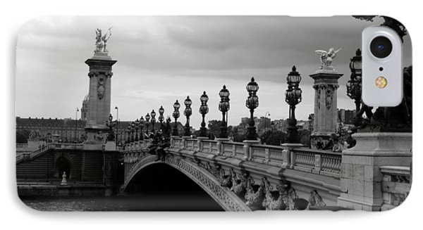 IPhone Case featuring the photograph Pont Alexander by Lisa Parrish