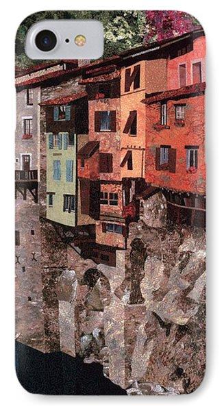 Pont En Royans Phone Case by Lenore Crawford