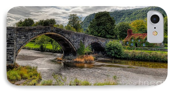 Pont Fawr 1636 Phone Case by Adrian Evans