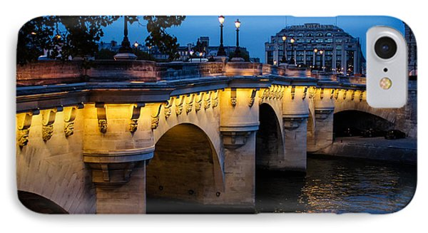 Pont Neuf Bridge - Paris France I IPhone Case