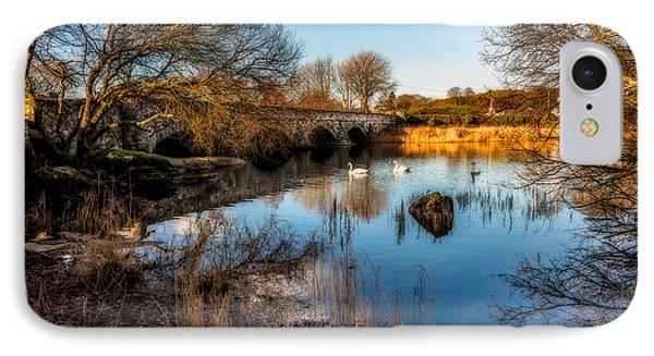Pont Pen Y Llyn Bridge IPhone Case by Adrian Evans