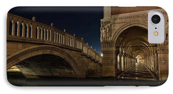 IPhone Case featuring the photograph Ponte Della Paglia by Marion Galt