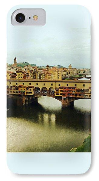 Ponte Vecchio 2 Phone Case by Ellen Henneke