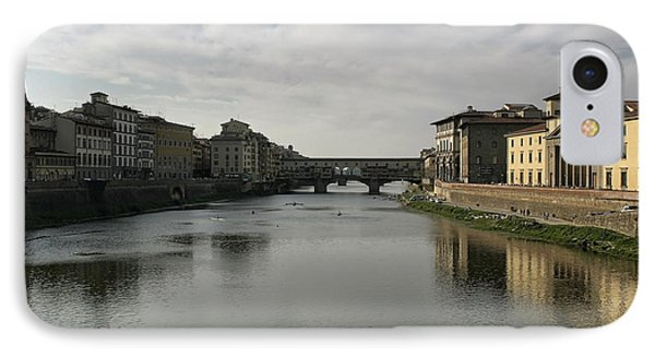 IPhone Case featuring the photograph Ponte Vecchio by Belinda Greb