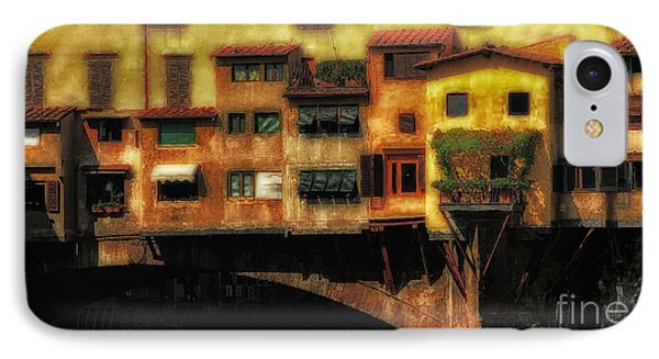 Ponte Vecchio Firenze Phone Case by Mike Nellums