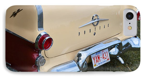 Pontiac Classic Car IPhone Case by Mick Flynn