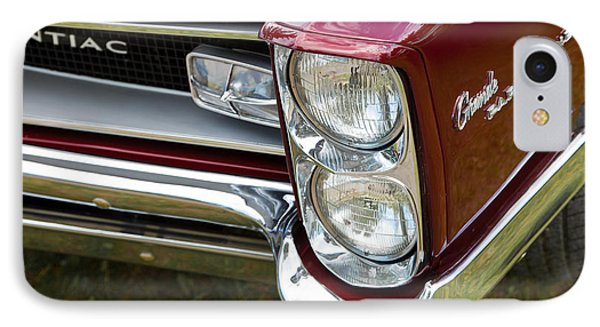 Pontiac Detail IPhone Case by Mick Flynn