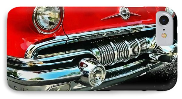 IPhone Case featuring the photograph Pontiac Grill by Victor Montgomery