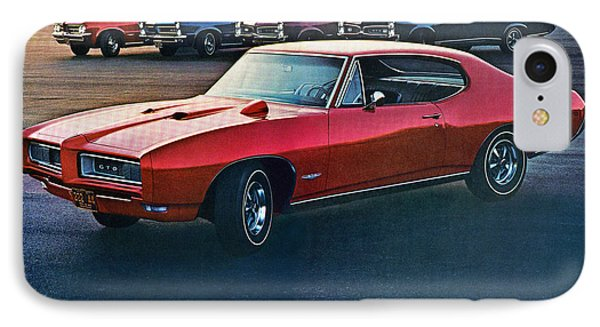Pontiac Gto - 1964 1965 1966 1967 1968 Phone Case by Digital Repro Depot