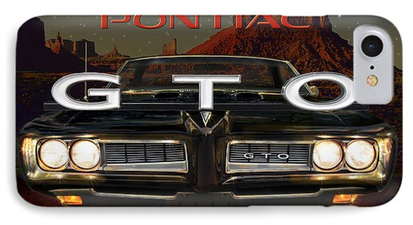 Pontiac Gto IPhone Case by Doug Kreuger