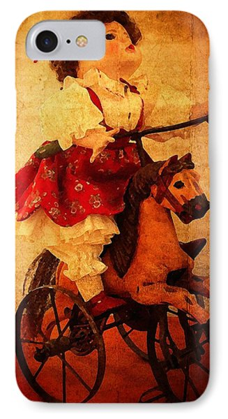 IPhone Case featuring the photograph Pony Ride by Timothy Bulone