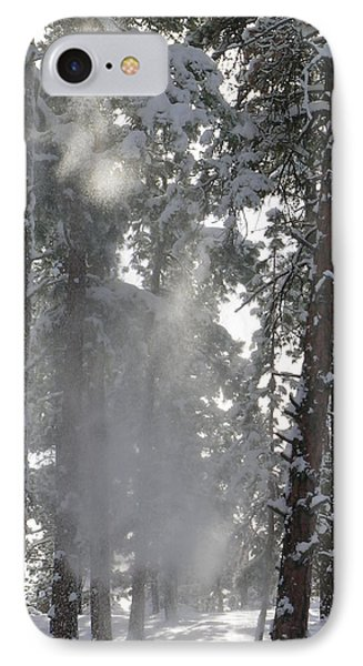 IPhone Case featuring the photograph Poof by Jennifer Lake