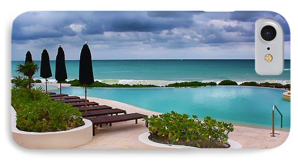 IPhone Case featuring the photograph Pool At Rosewood Mayakoba by Teresa Zieba