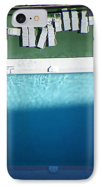 Poolside Upside IPhone Case by Brian Boyle