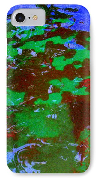 Poolwater Abstract IPhone Case by Deborah  Crew-Johnson