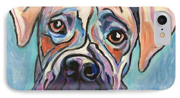 Pop Art Boxer Phone Case by Robin Wiesneth