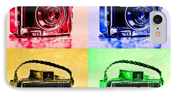 Pop Art Brownie Cameras IPhone Case