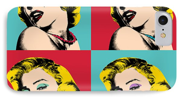 Pop Art Collage  IPhone Case by Mark Ashkenazi