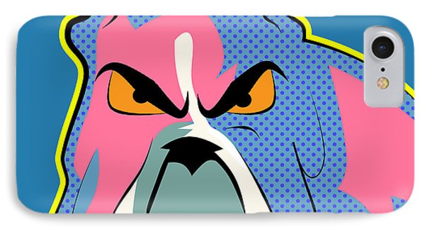 Pop Art Dog  IPhone Case by Mark Ashkenazi
