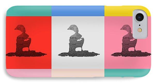 Pop Art Ducks IPhone Case