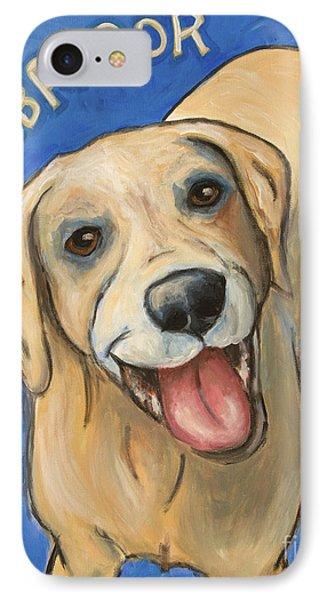 Pop Art Labrador IPhone Case by Robin Wiesneth