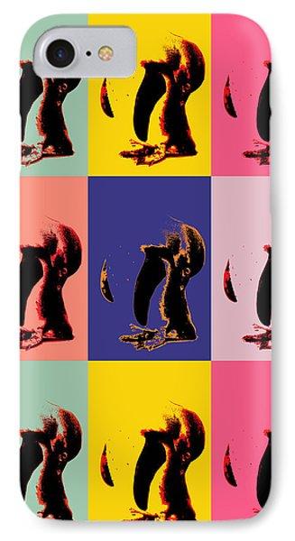Pop Art Penguin  IPhone Case