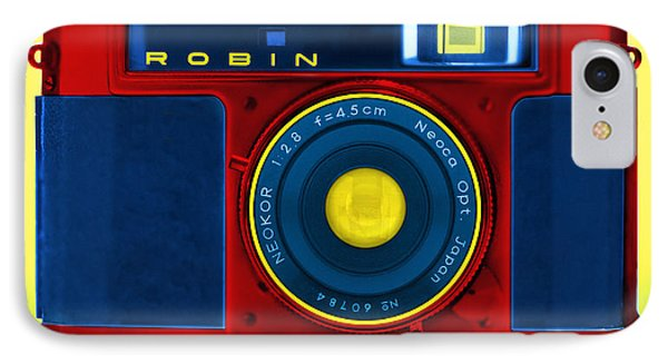 Pop Art Robin Phone Case by Mike McGlothlen