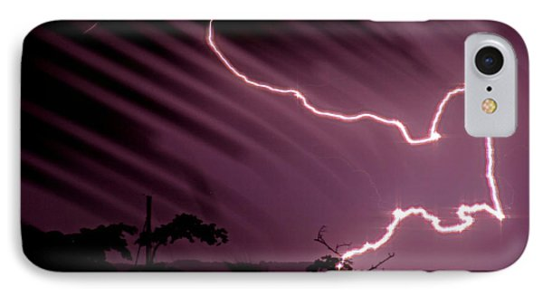 Popa Island Lightning IPhone Case by Bob Hislop