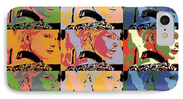 Popart Fashion Girl IPhone Case by Tommytechno Sweden