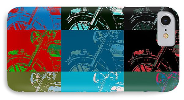 Popart Motorbike IPhone Case by Tommytechno Sweden