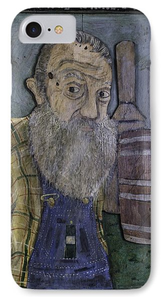 Popcorn Sutton - Heaven's Bootlegger IPhone Case by Eric Cunningham