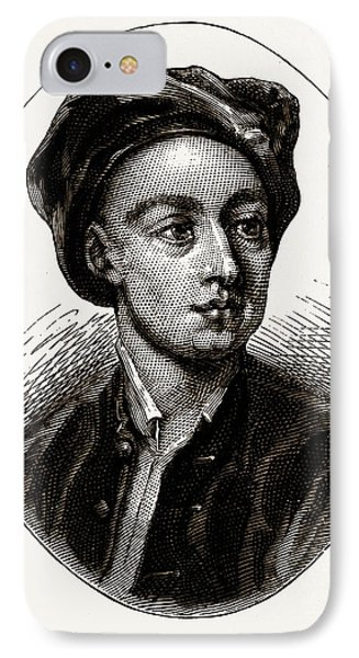 Pope, Uk, Engraving 1881 - 1884, Alexander Pope IPhone Case by Litz Collection