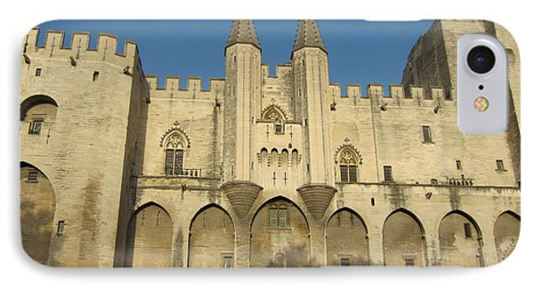 Popes Palace In Avignon Phone Case by Pema Hou