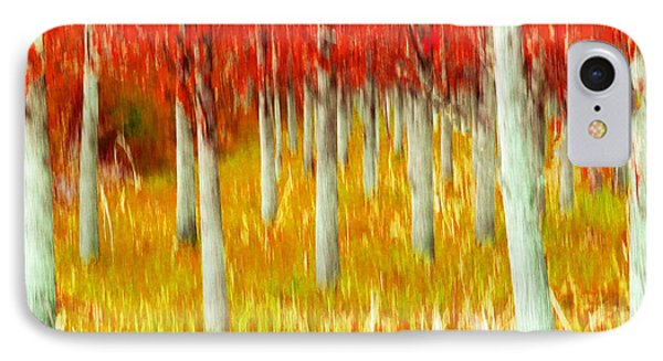 Poplars IPhone Case by Michele Wright