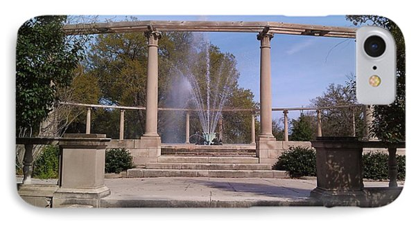 Popp Fountain New Orleans City Park IPhone Case