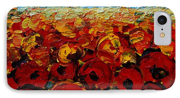 Poppies 2 IPhone Case