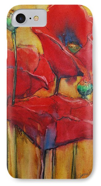 Poppies IIi IPhone Case by Jani Freimann