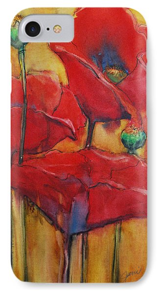 Poppies IIi Phone Case by Jani Freimann