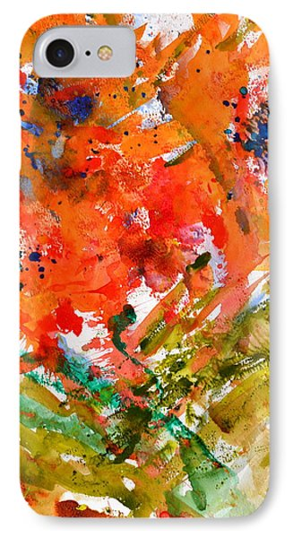 Poppies In A Hurricane IPhone Case by Beverley Harper Tinsley