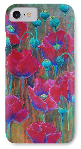 Poppies  IPhone Case by Jani Freimann