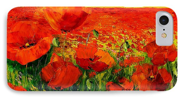 Poppies IPhone Case by Jean-Marc Janiaczyk