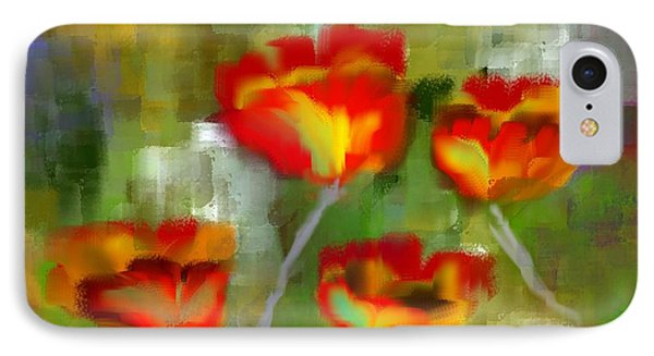 Poppies IPhone Case by Jessica Wright