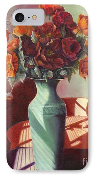 IPhone Case featuring the painting Poppies by Marlene Book